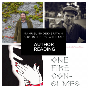 Samuel Snoek-Brown & John Sibley Williams Reading @ King's Bookstore