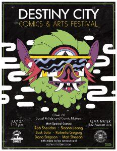 Destiny City Comics & Arts Festival @ Alma Mater Tacoma
